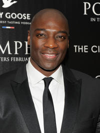 Adewale Akinnuoye-Agbaje at the New York premiere of