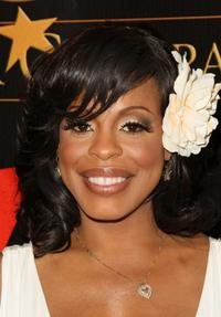 Niecy Nash at the Ebony Magazine Pre-Oscar Celebration.