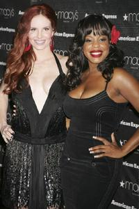 Phoebe Price and Niecy Nash at the Macy's Passport auction and fashion show.