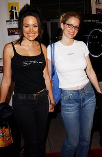 Liz Vassey and Kristin Bauer at the Los Angeles premiere of