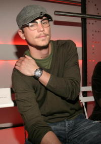 Josh Hartnett at the Diane Von Furstenberg show during Olympus Fashion Week in N.Y.