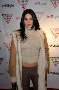 Jodi Lyn O'Keefe at the In-Style party during the Sundance Film Festival.