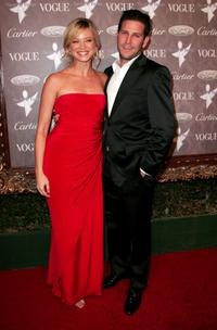 Amy Smart and Branden Williams at the