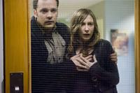 Peter Sarsgaard as John Coleman and Vera Farmiga as Kate Coleman in
