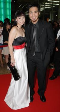 Andrea De Cruz and Pierre Png at the Asian Television Awards Gala 2006.