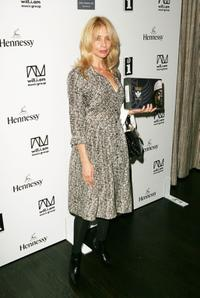 Rosanna Arquette at the Will.i.am record release party.