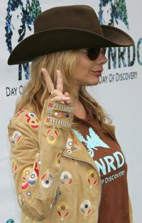Rosanna Arquette at the Natural Resource Defense Council's Day of Discovery.