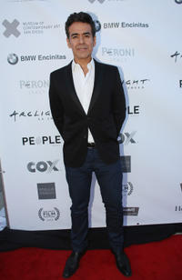 Jose Yenque at the San Diego Film Festival's Gus Van Sant Tribute and Retrospectiveat in California.