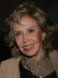 June Foray at the Academy of Motion Picture Arts and Sciences for a centennial tribute to director/screenwriter Otto Preminger.