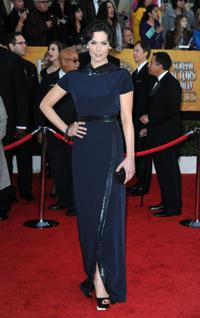 Michelle Forbes at the 16th Annual Screen Actors Guild Awards.