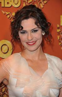 Michelle Forbes at the HBO's Post Golden Globe Awards Party.