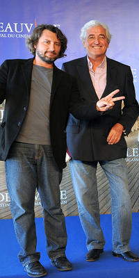 Bruno Podalydes and French screenwriter Jean-Loup Dabadie at the 35th American Film Festival.