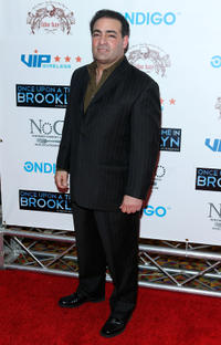 Paul Borghese at the New York screening of