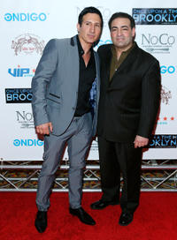 William DeMeo and Paul Borghese at the New York screening of