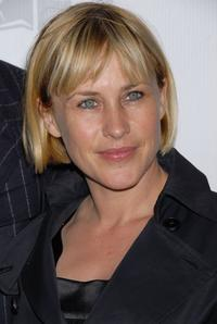 Patricia Arquette and at the premiere of the