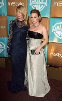 Patricia Arquette and Rosana Arquette at the In Style Magazine and Warner Bros. Studios Golden Globe After Party.