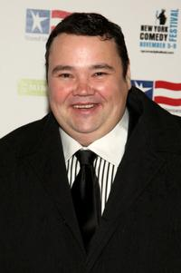 John Pinette at the 2008 Stand Up For Heroes: A Benefit for the Bob Woodruff Foundation.