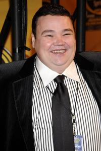 John Pinette at the NASCAR Sprint Cup Series Awards.