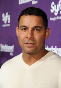 Jon Huertas at the EW and SyFy party during the Comic-Con 2010.