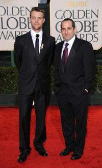 Jesse Spencer and Peter Jacobson at the 67th Annual Golden Globe Awards.