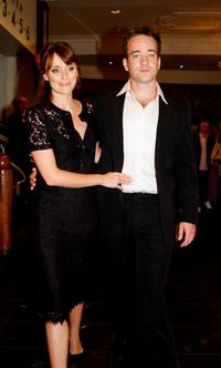 Keeley Hawes and Matthew MacFadyen at the Irish premiere of