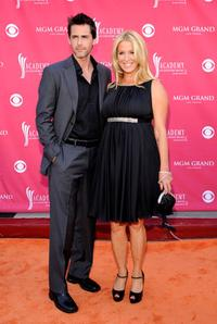 Guest and Poppy Montgomery at the 43rd annual Academy Of Country Music Awards.