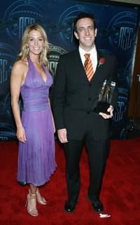 Poppy Montgomery and Nathan Hope at the 19th Annual Outstanding Achievement Awards.