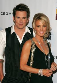 Mark McGrath and Poppy Montgomery at the Fashion Rocks.