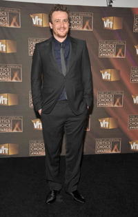 Jason Segel at the VH1's 14th Annual Critics Choice Awards.
