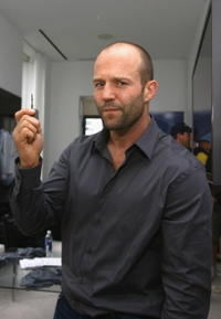 Jason Statham at the VMA Style Villa At Bryant Park Hotel.