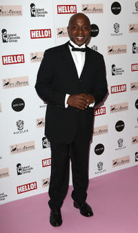 Vas Blackwood at the Amy Winehouse Foundation Ball in London.