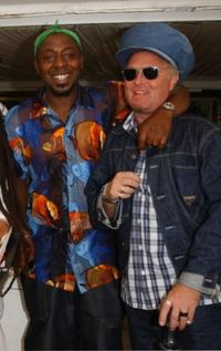 Vas Blackwood and Rick Elgood at the 56th International Cannes Film Festival.