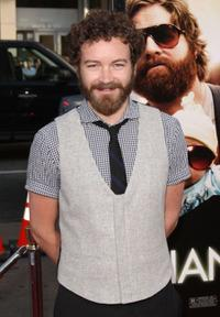 Danny Masterson at the Los Angeles premiere of