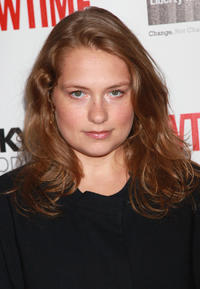 Merritt Wever at the Showtime's 2010 Emmy nominee reception in California.