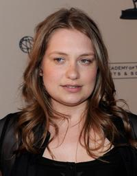 Merritt Wever at the Academy of Television Arts and Sciences Evening with