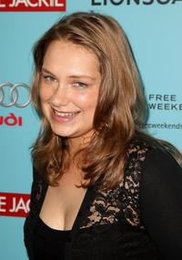Merritt Wever at the world premiere of