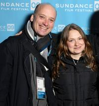 Frank Wood and Merritt Wever at the screening of
