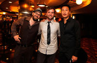 Ed Gass-Donnelly, Aaron Poole and Lee Kim at the premiere of