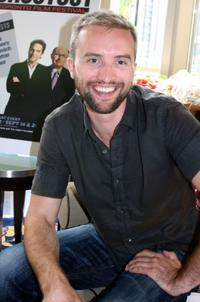 Aaron Poole at the DPA Gifting Lounge during the 2008 Toronto International Film Festival.