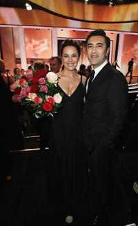 Desiree Nosbusch and Mehmet Kurtulus at the Goldene Kamera 2010 Award in Berlin.