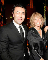 Mehmet Kurtulus and Guest at the Goldene Kamera 2010 Award in Berlin.