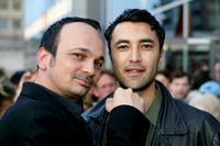 Mennan Yapo and Mehmet Kurtulus at the premiere of