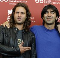 Adam Bousdoukos and Fatih Akin at the photocall of