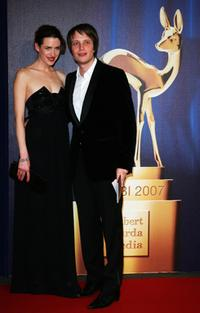 Julia Malick and August Diehl at the Annual Bambi Awards 2007.