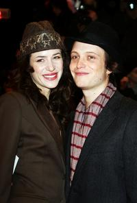 Julia Malik and August Diehl at the premiere of