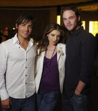 Kevin Zegers, Michelle Trachtenberg and Shawn Ashmore at the 29th Annual Toronto International Film Festival.