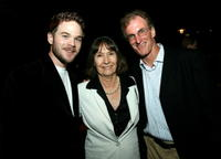 Shawn Ashmore, Caroline Pfeiffer and Tom Schatz at the after party of the premiere of