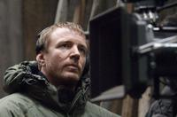 Director Guy Ritchie on the set of