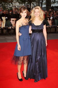 Keira Knightley and Amanda Foreman at the world premiere of