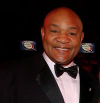 George Foreman at the Children's Miracle Network gala.